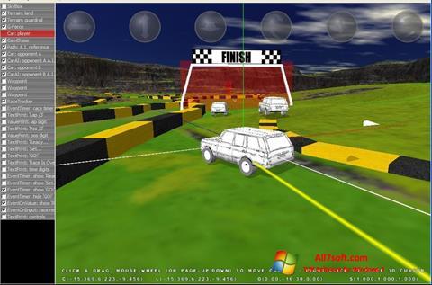 لقطة شاشة 3D Rad لنظام التشغيل Windows 7