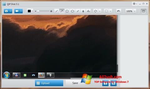 لقطة شاشة QIP Shot لنظام التشغيل Windows 7