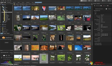 لقطة شاشة ACDSee Pro لنظام التشغيل Windows 7