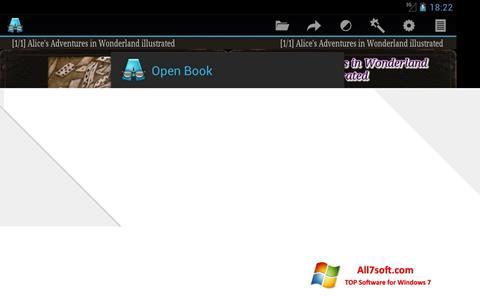 لقطة شاشة AlReader لنظام التشغيل Windows 7