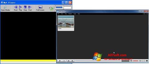 لقطة شاشة MP4 Player لنظام التشغيل Windows 7