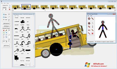 لقطة شاشة Pivot Animator لنظام التشغيل Windows 7