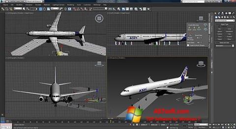 لقطة شاشة 3ds Max لنظام التشغيل Windows 7
