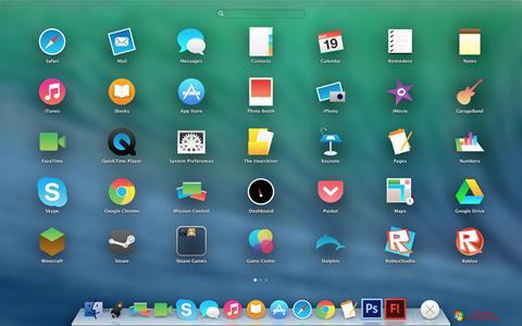 لقطة شاشة OS X Flat IconPack Installer لنظام التشغيل Windows 7