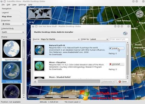 لقطة شاشة Marble لنظام التشغيل Windows 7