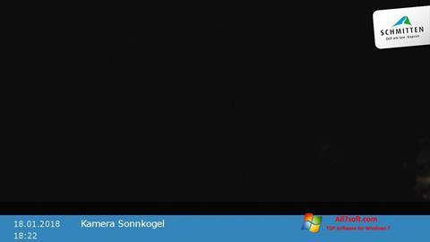 لقطة شاشة Live WebCam لنظام التشغيل Windows 7
