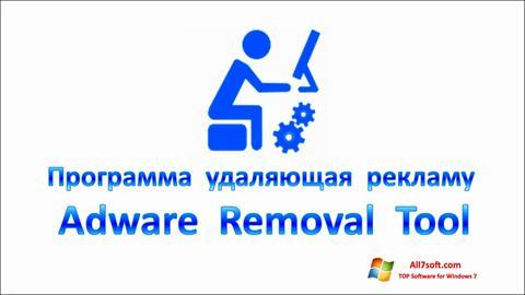 لقطة شاشة Adware Removal Tool لنظام التشغيل Windows 7