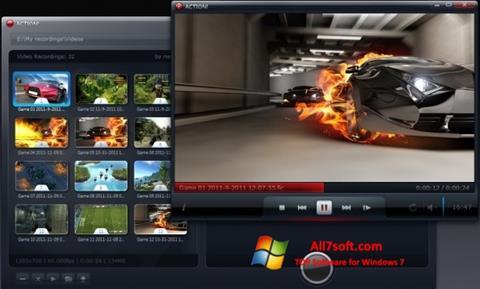 لقطة شاشة Action! لنظام التشغيل Windows 7
