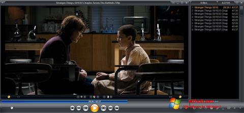 لقطة شاشة Zoom Player لنظام التشغيل Windows 7