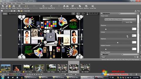 لقطة شاشة ViewNX لنظام التشغيل Windows 7