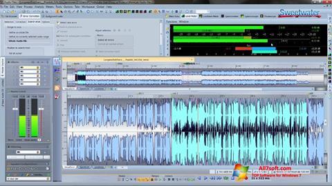 لقطة شاشة WaveLab لنظام التشغيل Windows 7