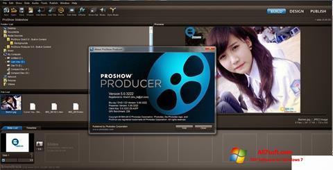 لقطة شاشة ProShow Producer لنظام التشغيل Windows 7