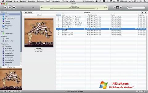 لقطة شاشة Tunatic لنظام التشغيل Windows 7
