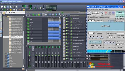 لقطة شاشة Linux MultiMedia Studio لنظام التشغيل Windows 7