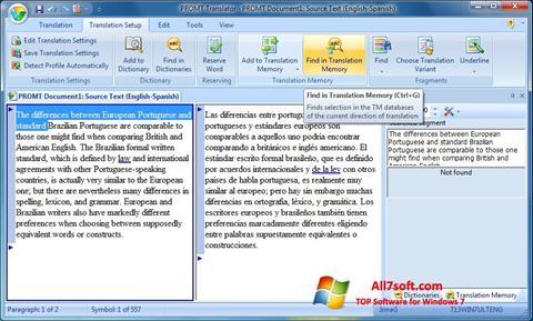 لقطة شاشة PROMT لنظام التشغيل Windows 7