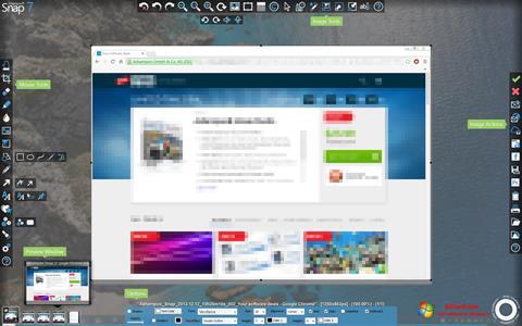لقطة شاشة Ashampoo Snap لنظام التشغيل Windows 7