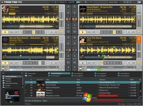 لقطة شاشة Traktor PRO لنظام التشغيل Windows 7