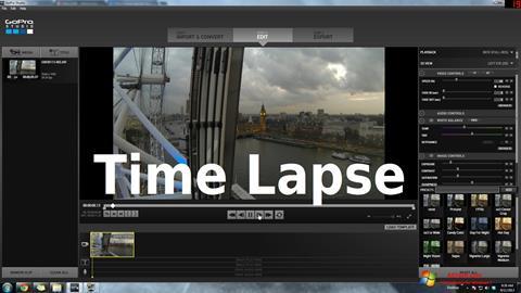 لقطة شاشة GoPro Studio لنظام التشغيل Windows 7