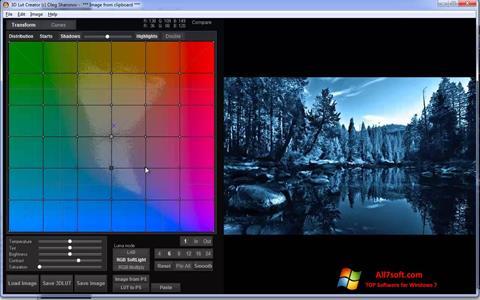 لقطة شاشة 3D LUT Creator لنظام التشغيل Windows 7