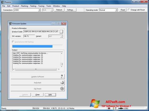 لقطة شاشة Phoenix لنظام التشغيل Windows 7