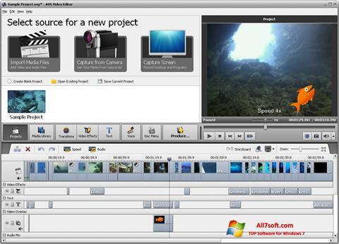 تحميل AVS Video Editor لنظام التشغيل Windows 7 32/64 bit العربية