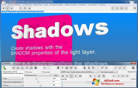 لقطة شاشة BluffTitler لنظام التشغيل Windows 7