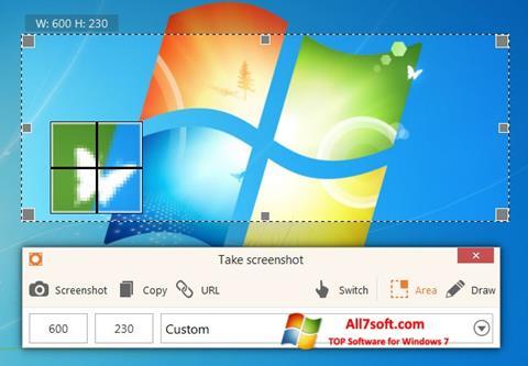 لقطة شاشة ScreenShot لنظام التشغيل Windows 7