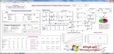 لقطة شاشة AnyLogic لنظام التشغيل Windows 7